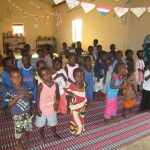 One school in Senegal we donated school supplies and Moringa powder.
